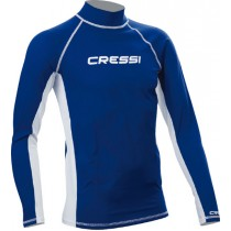 Cressi High-Stretch Mens Long Sleeve Rash Top
