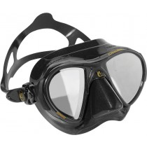 Cressi Nano Black Mask with HD Mirrored Lens