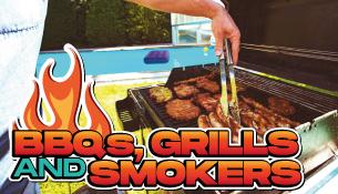 BBQs, Grills & Smokers