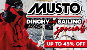 Musto Dinghy and Sailing Specials