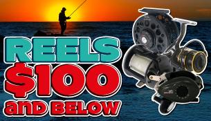 Reels - $100 and below
