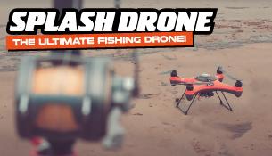 SplashDrone Fishing Promotion