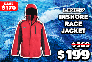 Line 7 Inshore Race Jacket Red