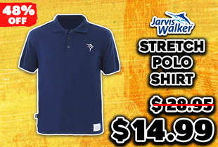 Jarvis Walker Stretch Polo Shirt Navy