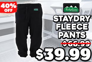 Ridgeline Staydry Fleece Pants