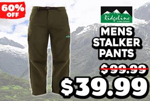 Ridgeline Mens Stalker Pants Olive